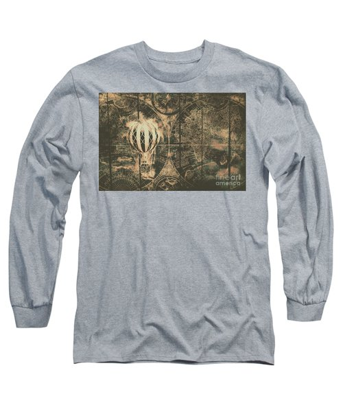 Travelling The Old World Long Sleeve T-Shirt