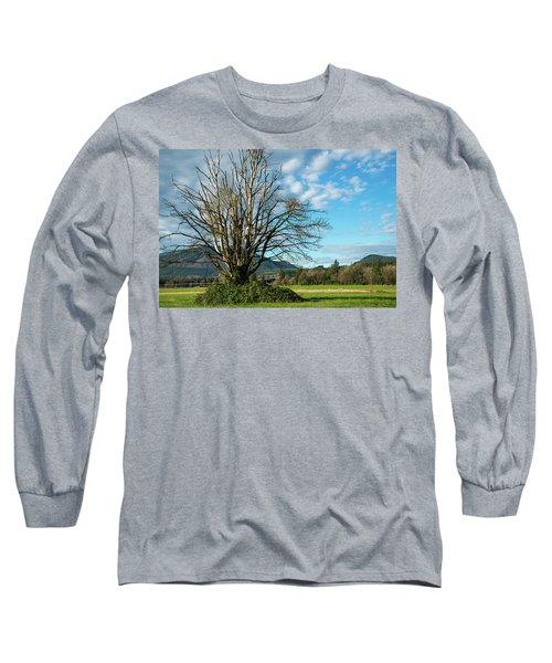 Tree And Sky Long Sleeve T-Shirt