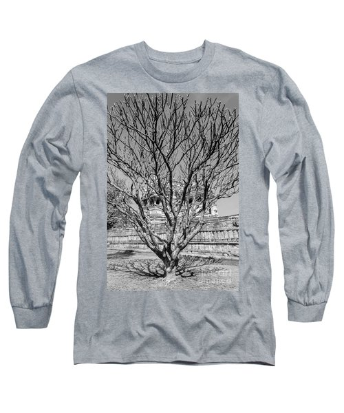 Tree And Temple Long Sleeve T-Shirt