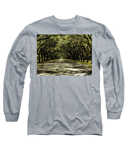 Tree Covered Approach Long Sleeve T-Shirt
