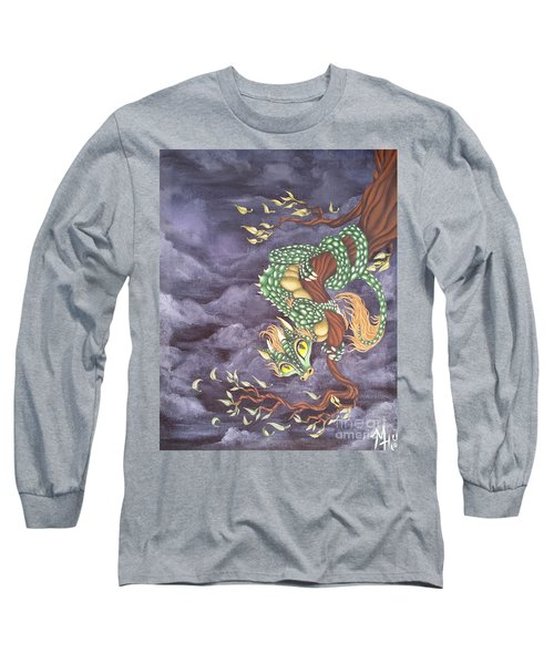 Tree Dragon Long Sleeve T-Shirt