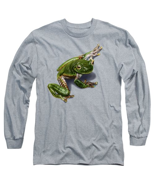 Tree Frog  Long Sleeve T-Shirt by Owen Bell