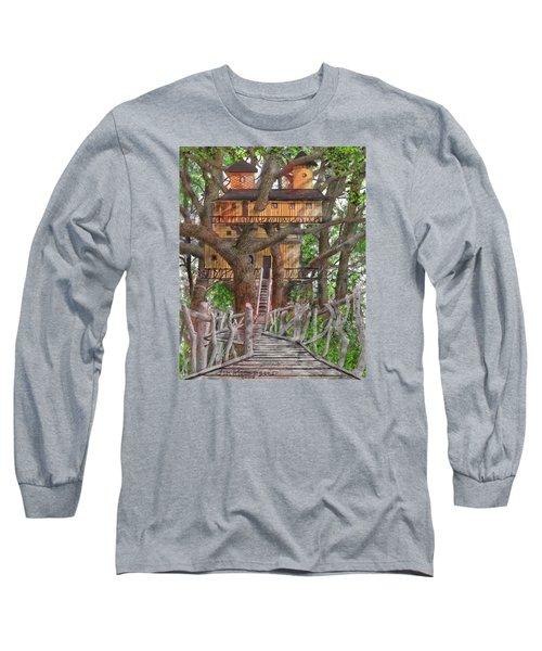Tree House #6 Long Sleeve T-Shirt