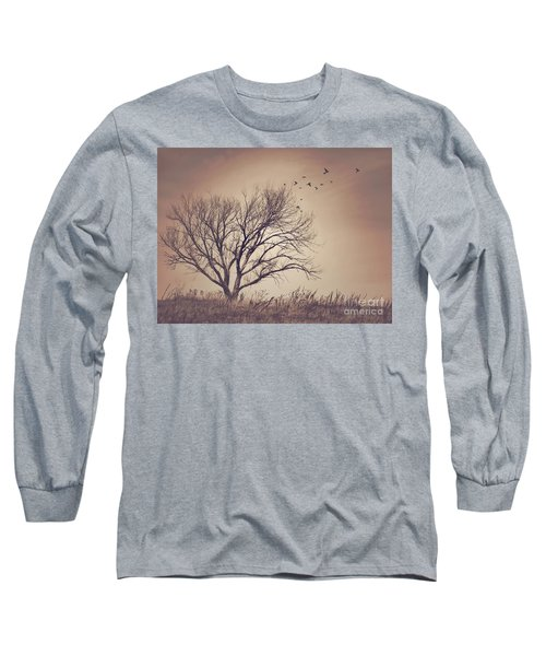 Long Sleeve T-Shirt featuring the photograph Tree by Juli Scalzi