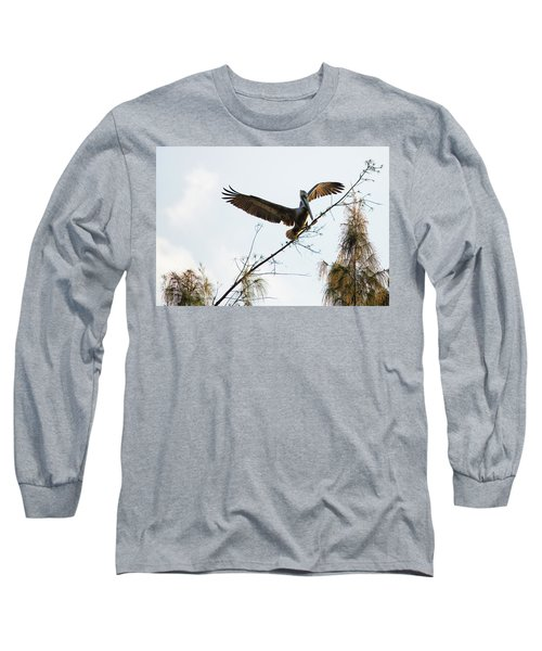 Tree Landing Long Sleeve T-Shirt