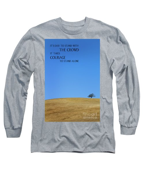 Tree Of Courage Long Sleeve T-Shirt