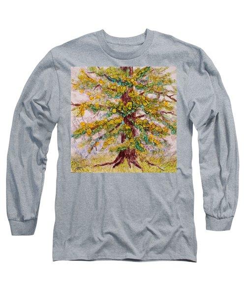 Tree Of Life Long Sleeve T-Shirt by Joanne Smoley