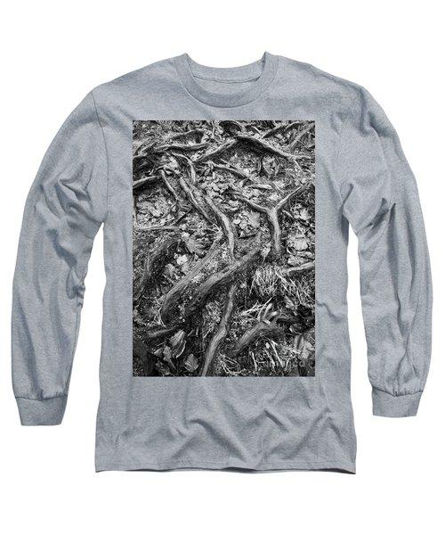 Tree Roots Study Long Sleeve T-Shirt