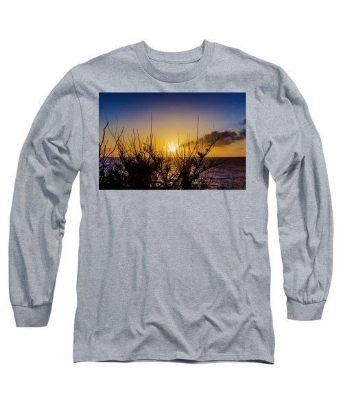 Tree Sunset Long Sleeve T-Shirt