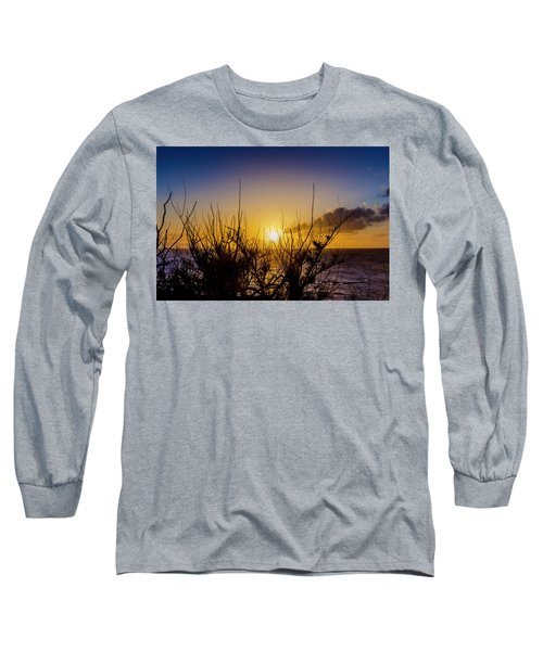 Tree Sunset Long Sleeve T-Shirt