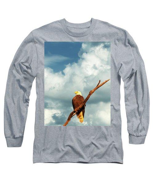 Tree Top Eagle  Long Sleeve T-Shirt