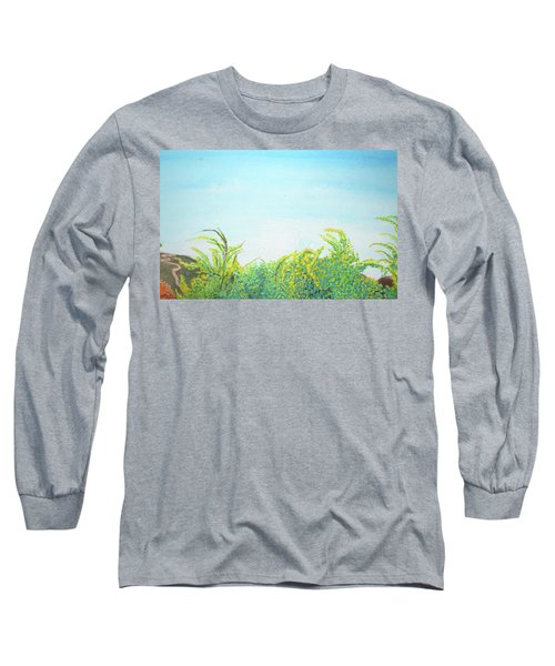 Tree Tops Long Sleeve T-Shirt by Mary Ellen Frazee