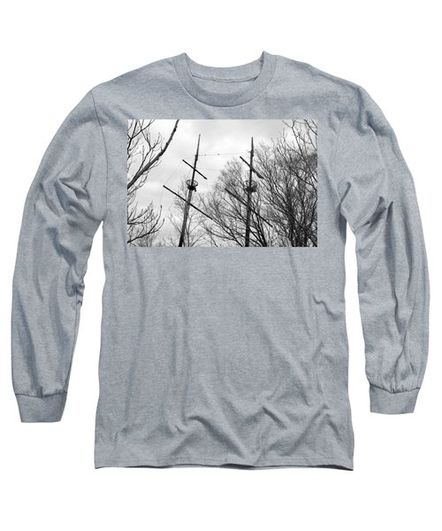 Long Sleeve T-Shirt featuring the photograph Tree Types by Valentino Visentini