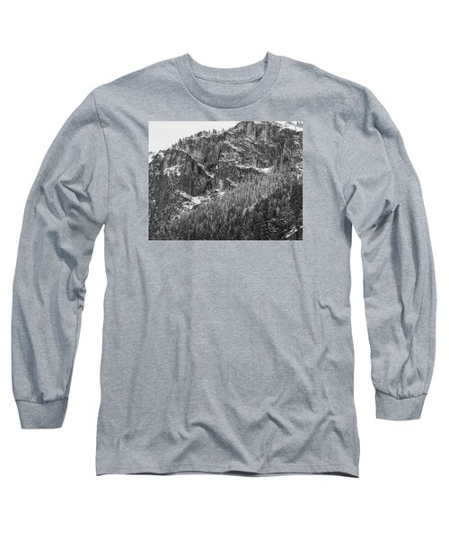 Long Sleeve T-Shirt featuring the photograph Treefall by Lora Lee Chapman