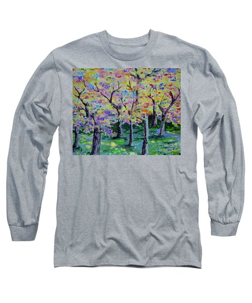 Trees On Hideaway Ct Long Sleeve T-Shirt