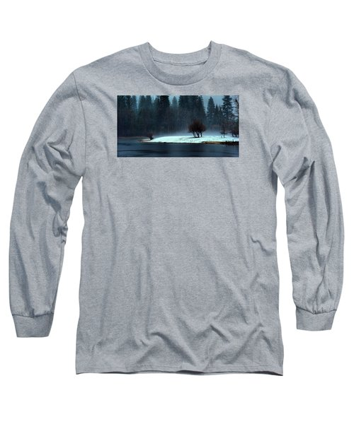 Trees On Point Long Sleeve T-Shirt by Josephine Buschman