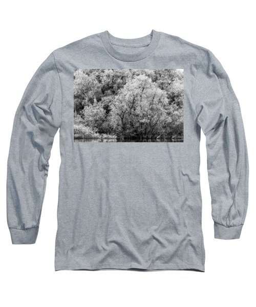 Trees On The River Long Sleeve T-Shirt