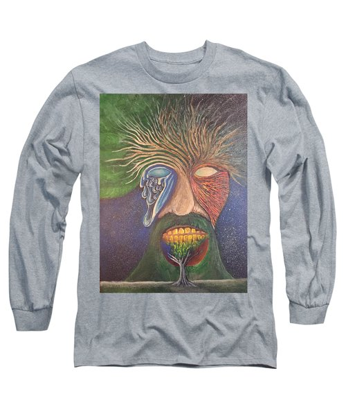 Trees Long Sleeve T-Shirt by Steve  Hester