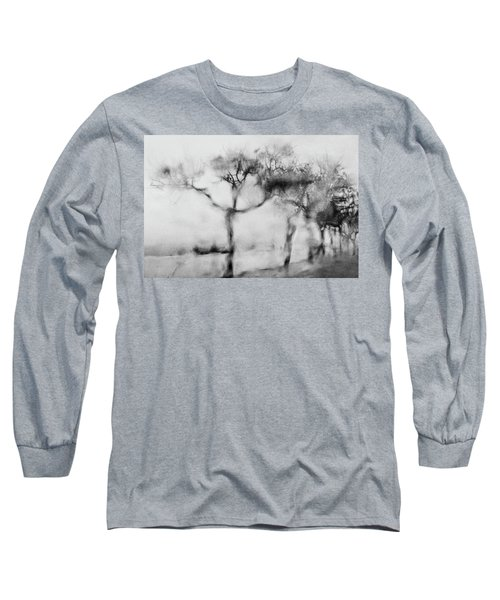 Trees Through The Window Long Sleeve T-Shirt by Celso Bressan