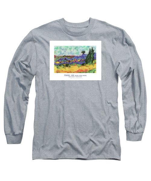 Trek 100 Poster Long Sleeve T-Shirt