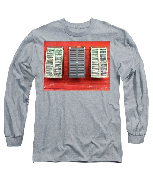 Tres Persianas Long Sleeve T-Shirt