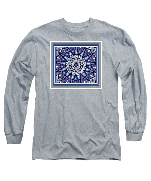 Long Sleeve T-Shirt featuring the photograph Tribal Star by Shirley Moravec