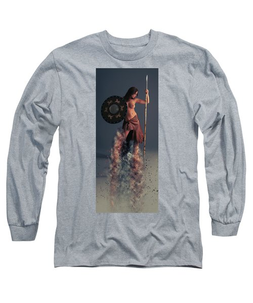 Tribal Warrior Long Sleeve T-Shirt