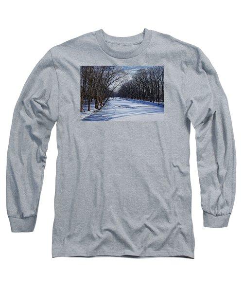 Tributary Long Sleeve T-Shirt by John Gilbert