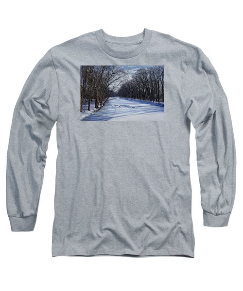 Long Sleeve T-Shirt featuring the photograph Tributary by John Gilbert