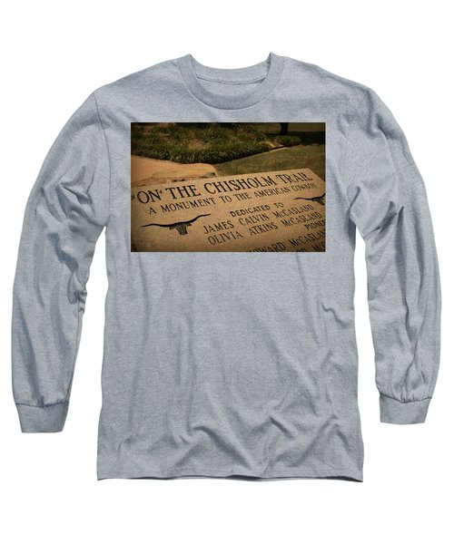 Tribute To The Cowboy Long Sleeve T-Shirt