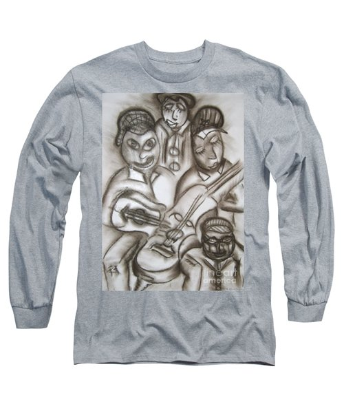 Tribute To The String Bass Long Sleeve T-Shirt