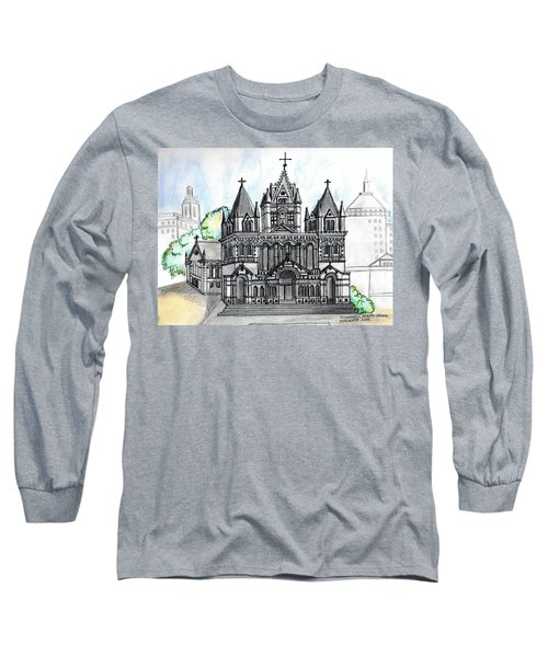 Trinity Church Boston Long Sleeve T-Shirt