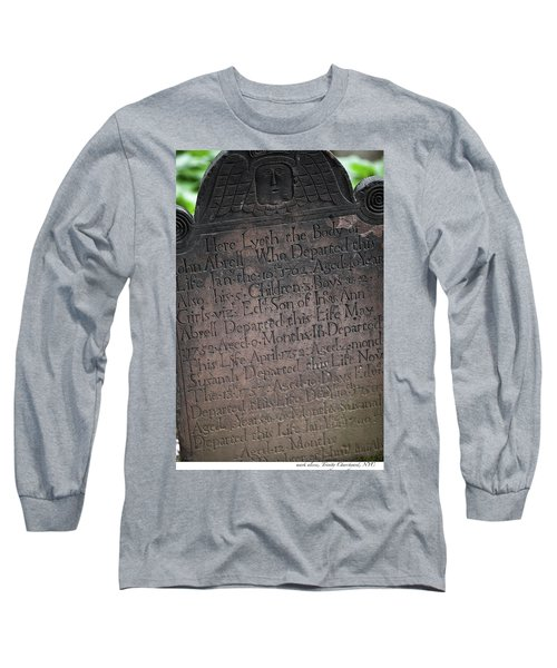 Trinity Tombstone Long Sleeve T-Shirt