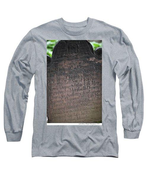 Trinity Tombstone Long Sleeve T-Shirt