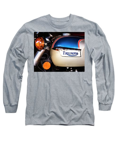 Triumph Motorcyle Long Sleeve T-Shirt