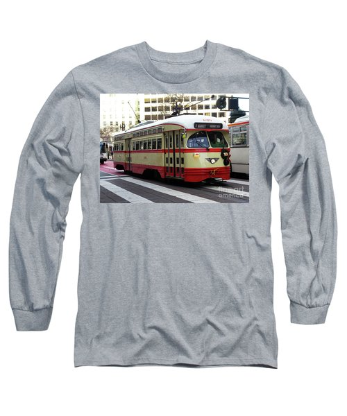 Long Sleeve T-Shirt featuring the photograph Trolley Number 1079 by Steven Spak