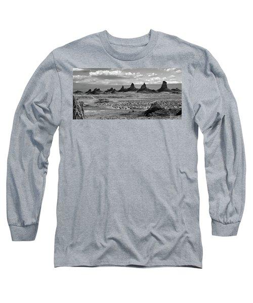 Trona Pinnacles Peaks Long Sleeve T-Shirt