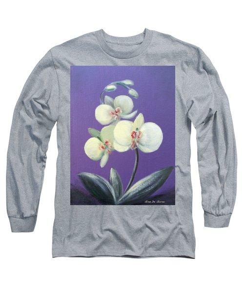 Tropical Elegance Long Sleeve T-Shirt