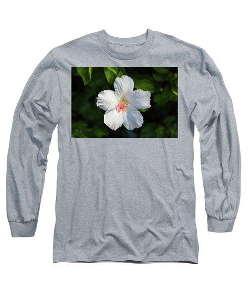Tropical Flower 2 Long Sleeve T-Shirt