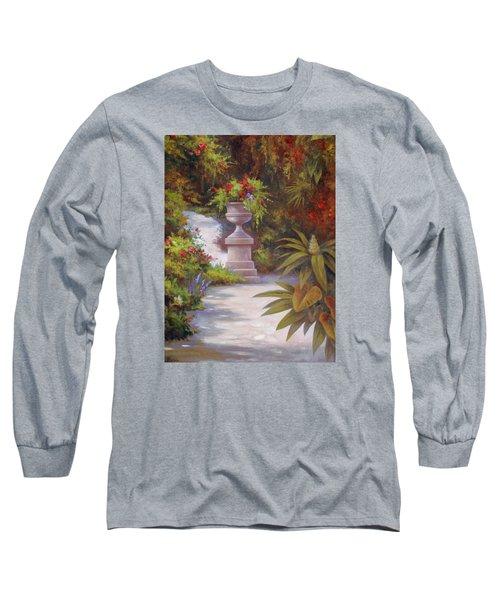 Tropical Garden Long Sleeve T-Shirt by Vivien Rhyan
