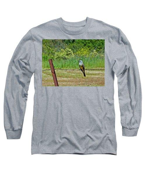 Tropical Kingbird Long Sleeve T-Shirt