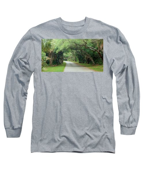 Tropical Magic Forest Long Sleeve T-Shirt