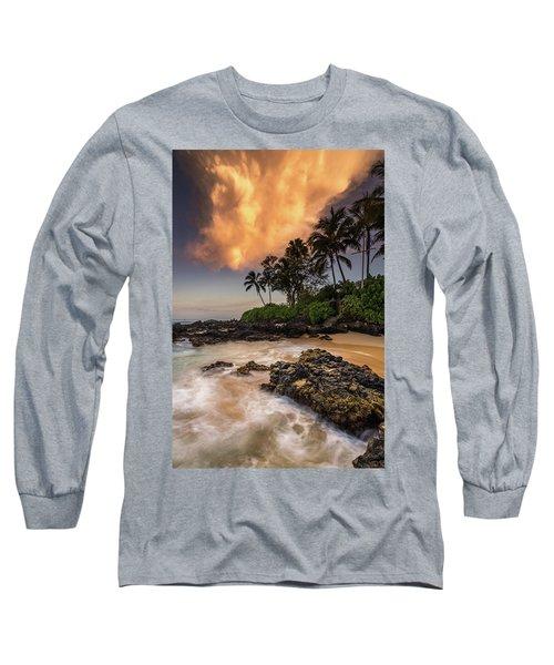 Tropical Nuclear Sunrise Long Sleeve T-Shirt
