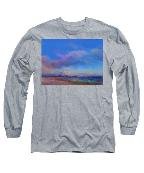 Tropical Seascape Long Sleeve T-Shirt by Anthony Fishburne