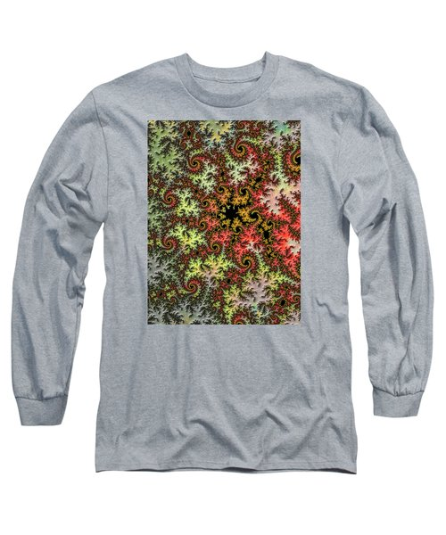 Long Sleeve T-Shirt featuring the photograph Tropical Storm Embroidered by Ronda Broatch