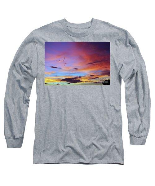 Tropical North Queensland Sunset Splendor  Long Sleeve T-Shirt