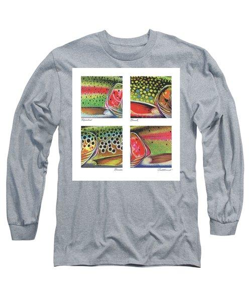 Trout Colors Long Sleeve T-Shirt