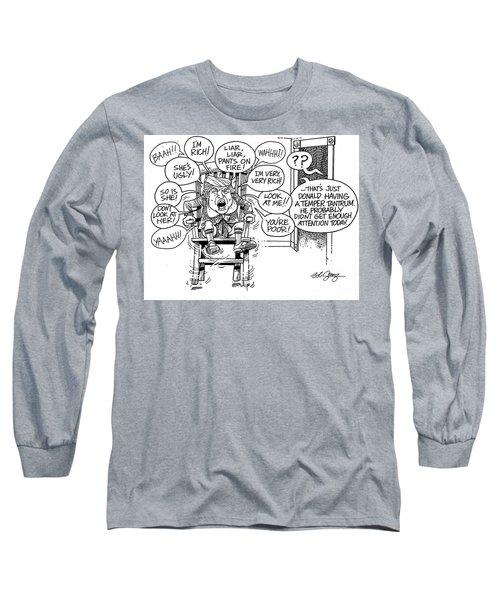 Trumptempertantrum Long Sleeve T-Shirt