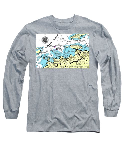 Trunk Bay, St. John Long Sleeve T-Shirt