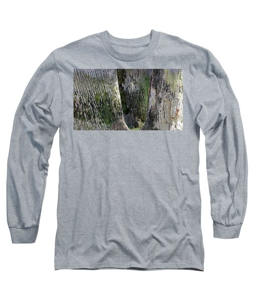 Long Sleeve T-Shirt featuring the photograph Trunk Trio by August Timmermans